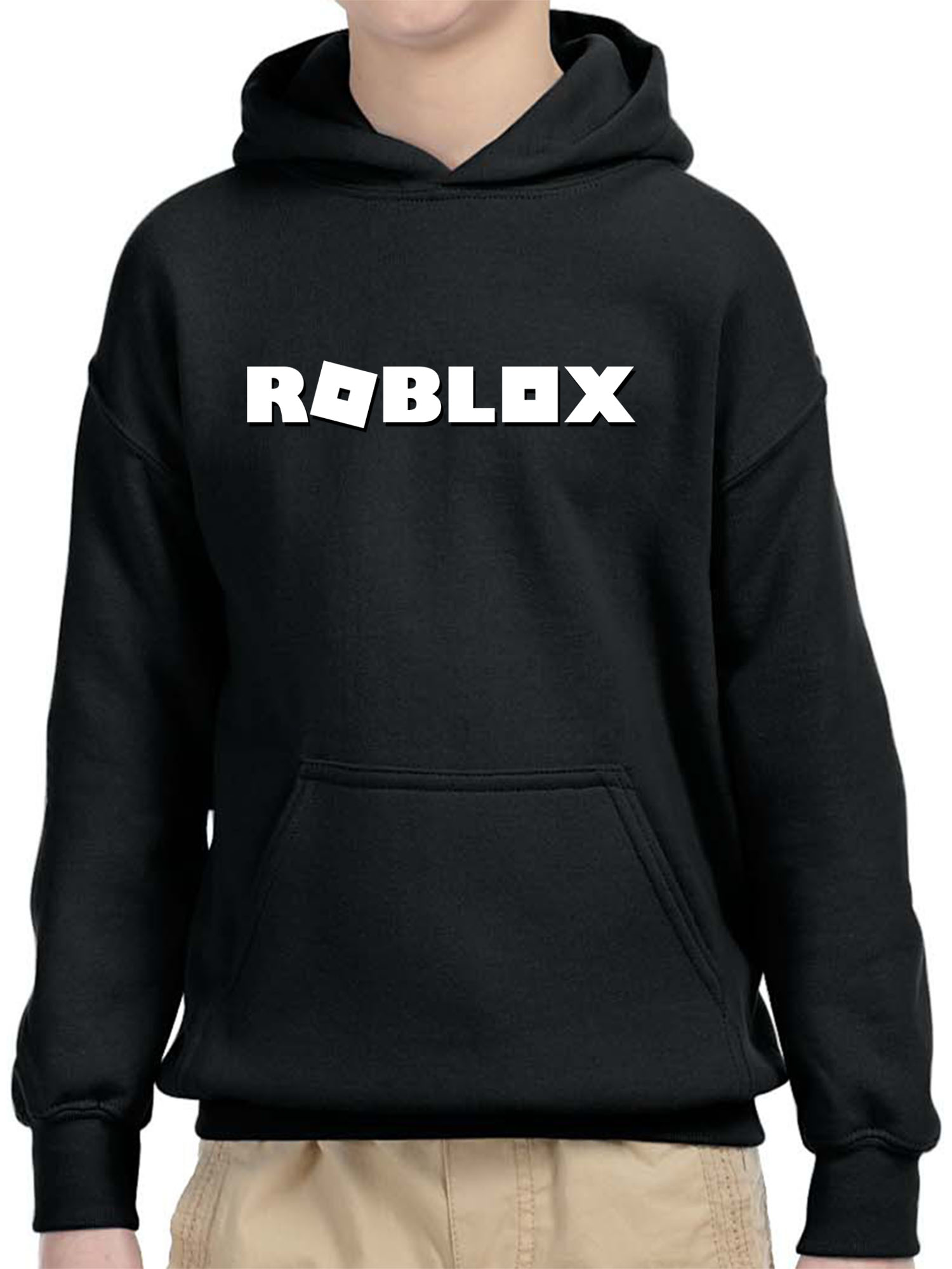 New Way New Way 923 Youth Hoodie Roblox Logo Game Accent