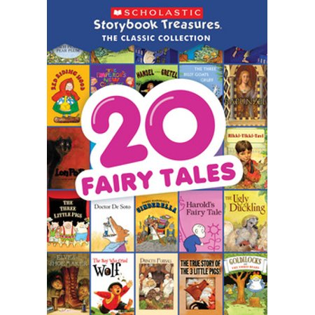 20 Fairy Tales: Scholastic Storybook Treasure Classic Collection (DVD) - Fairy Tale Stories For Children