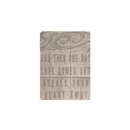 Artehouse LLC Then One Day by Lisa Weedn Textual Art Plaque