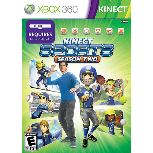Kinect Sports: Season 2 (Xbox 360) - Pre-Owned