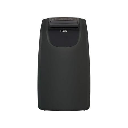 Haier 9,000 Btu Portable Air Conditioner with Heat Option, Black,