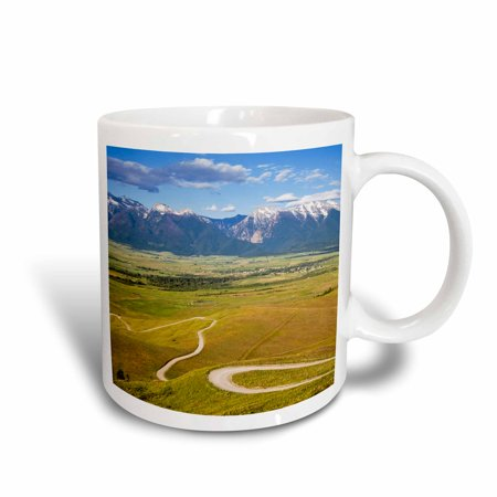 3dRose St Ignatius, Red Sleep Mountain Drive, Montana - US27 CHA1480 - Chuck Haney, Ceramic Mug, 15-ounce
