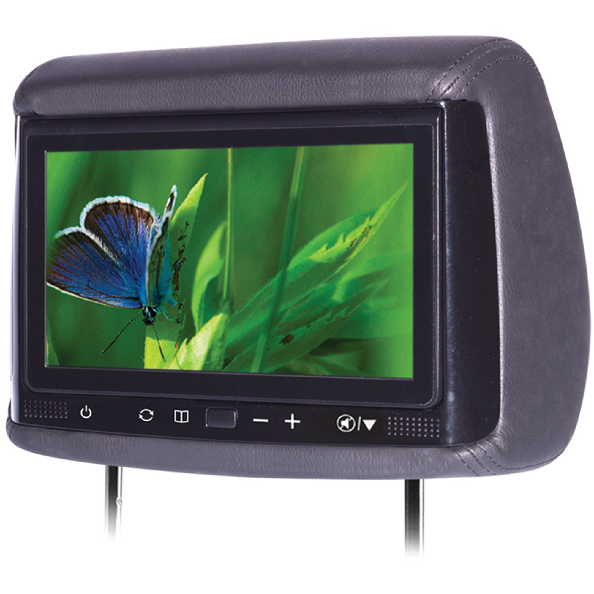 "Concept BSS-905 9"" Chameleon Big Screen LCD Headrest Monitor with 3 Color Covers"