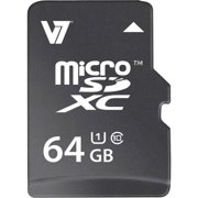 V7 64GB microSDXC UHS-1 Memory Card