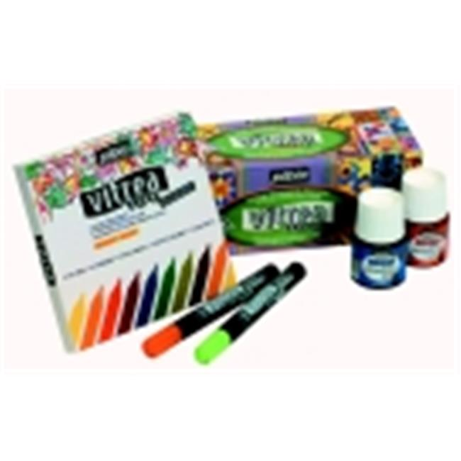 Pebeo Non-Toxic Water Based Paint Marker, Set - 10