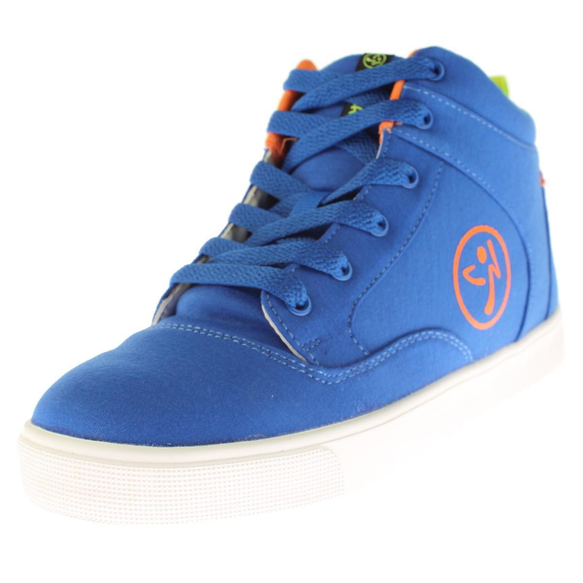 Zumba Womens Street Fresh High Top Contrast Trim Dance Shoes by Zumba