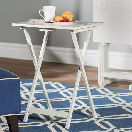Breakwater Bay Ally 5 Piece TV Tray Table Set with Compass