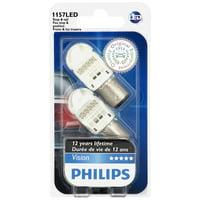 Philips 1157 Vision LED Mini Bulb, Pack of 2
