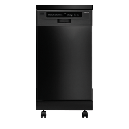 ffpd1821mb 18 fully integrated portable dishwasher with 6 wash cycles 59 dba china crystal