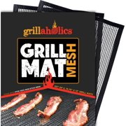 Grillaholics Mesh Grill Mat Perfect for Smoking Meat & Grilling Fish