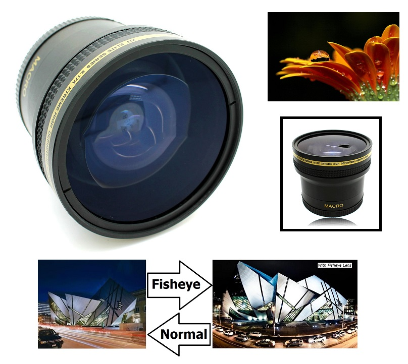 New 2.0X High Definition Telephoto Conversion Lens for Nikon D7200 Only for Lenses with Filter Sizes of 52, 58, 62mm
