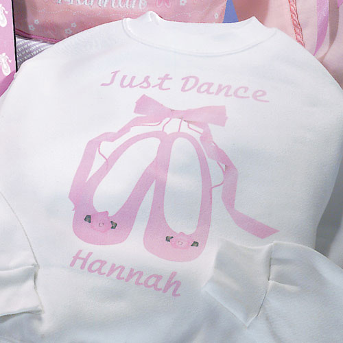 Personalized Just Dance Sweatshirt