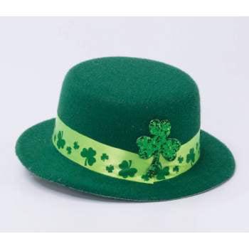 ST.PAT'S SHAMROCK MINI TOP HAT