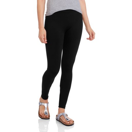 009a814f5de1b No Boundaries - Women's Solid Full Length Leggings - Walmart.com