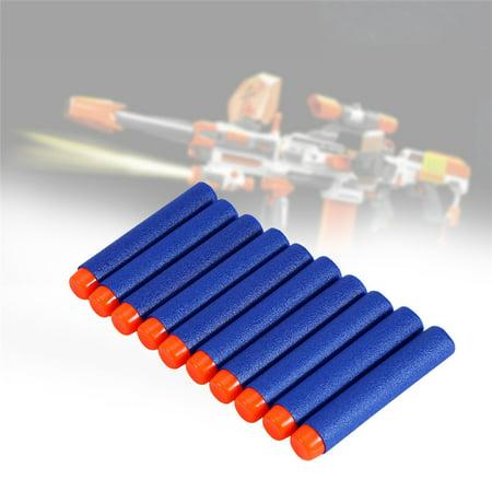 10-100pcs Bullet Darts For Kids Toy Gun Round Head Blasters,Gun Toy Bullet](Toy Guns For Kids)