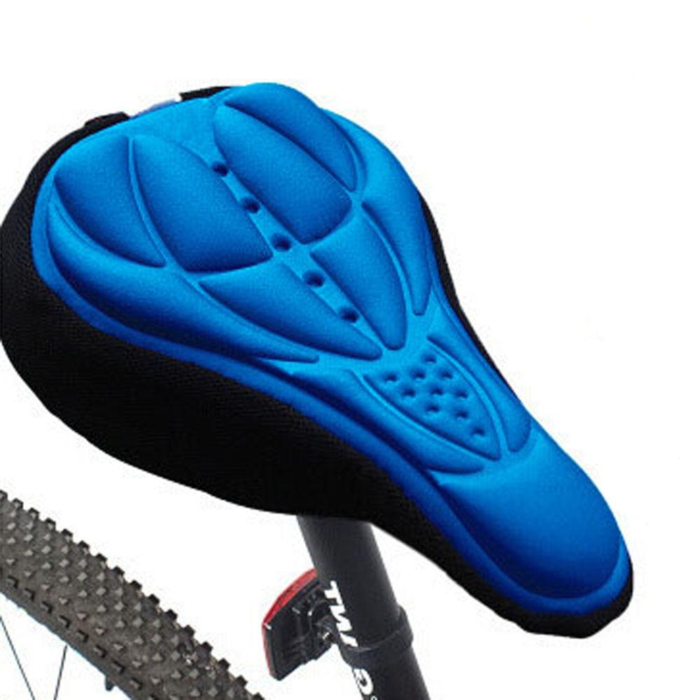 Bike Saddle Seat Cushion Cover,Outdoor Wide Big Bum Sprung Men Bike Bicycle Gel Cushion Comfort Saddle Seat Cover