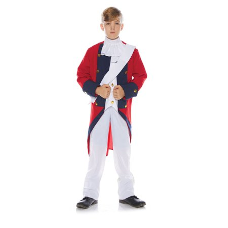 Redcoat Boys Child British Soldier Revolutionary War Costume