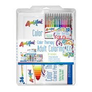 Color Therapy Adult Coloring Kit
