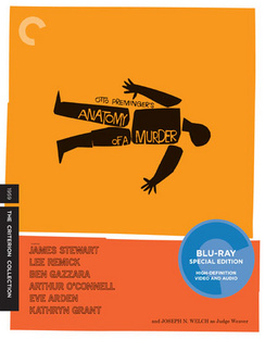 Anatomy Of A Murder (Blu-ray) by CRITERION