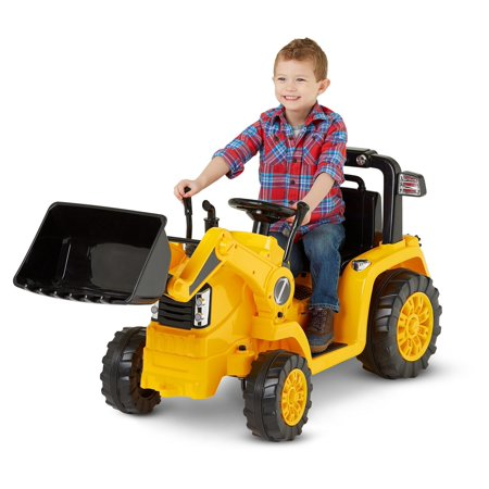 Kid Trax 6V CATERPILLAR Tractor Battery Powered Ride-On,