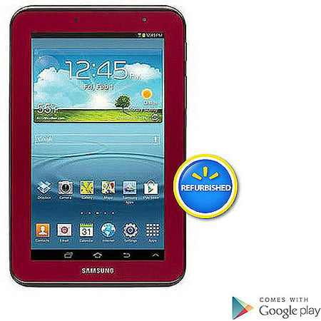 samsung galaxy tab 2 7 tablet with 8gb memory garnet red