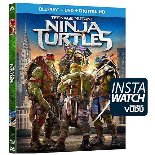 Teenage Mutant Ninja Turtles (2014) (Blu-ray + DVD + Digital HD) (With INSTAWATCH) (Widescreen)