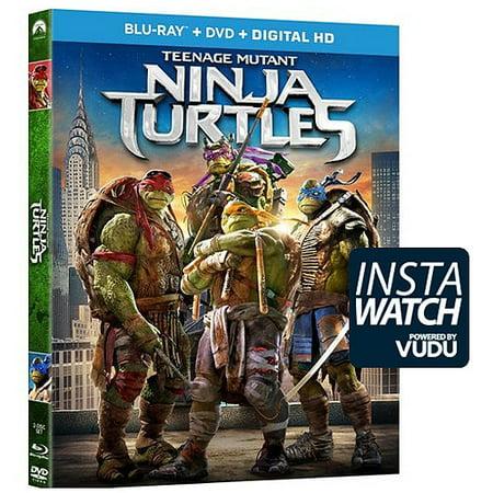 Teenage Mutant Ninja Turtles  2014   Blu Ray   Dvd   Digital Hd   With Instawatch   Widescreen