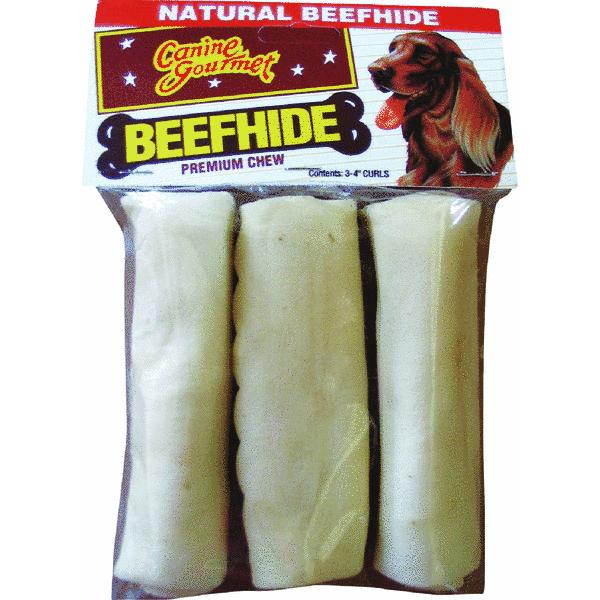 Westminster Pet Ruffin' it Rawhide Chew Roll Curl