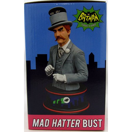 Diamond Select Toys Batman 1966 Classic Mad Hatter Resin Bust Toy - image 1 of 2