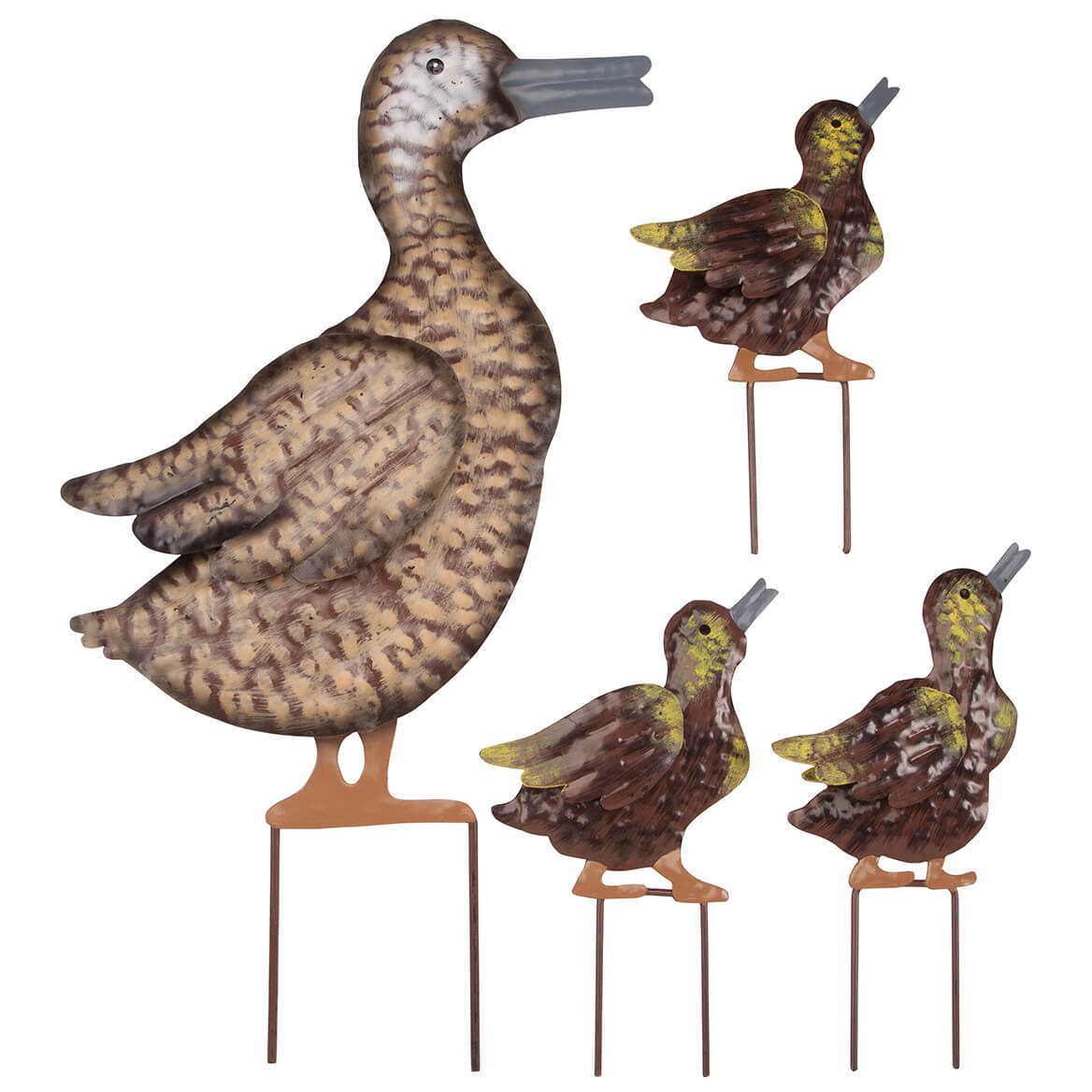 Duckling Brass Ornament For Home or Garden Outdoor Pond Ornamental Duckling