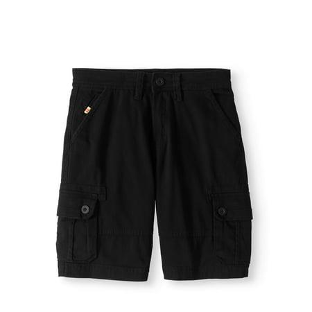 Boys Stretch Twill Cargo Shorts