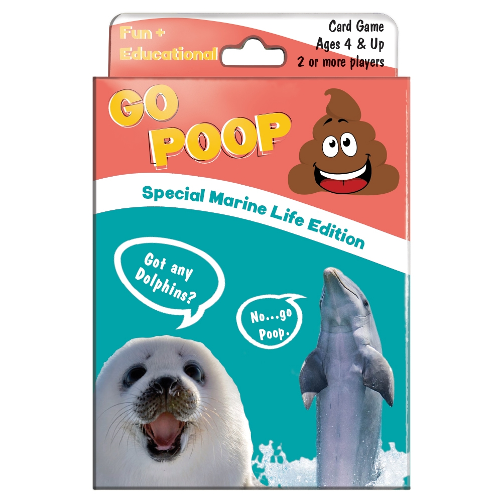 Tree-Free Greetings Go Poop Marine Life Kids Game-KG13408