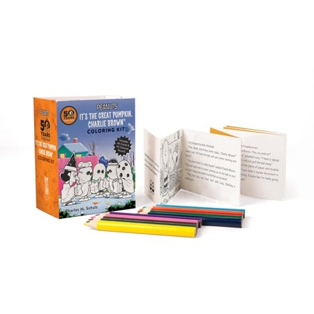 Miniature Editions: Peanuts: It's the Great Pumpkin Charlie Brown Coloring Kit - Halloween Coloring Pages Pumpkin