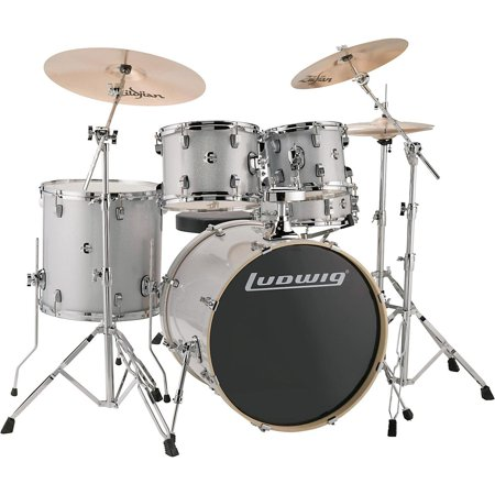 Ludwig 5 Piece Drum Set - Ludwig LCEE22028 Element Evolution 22