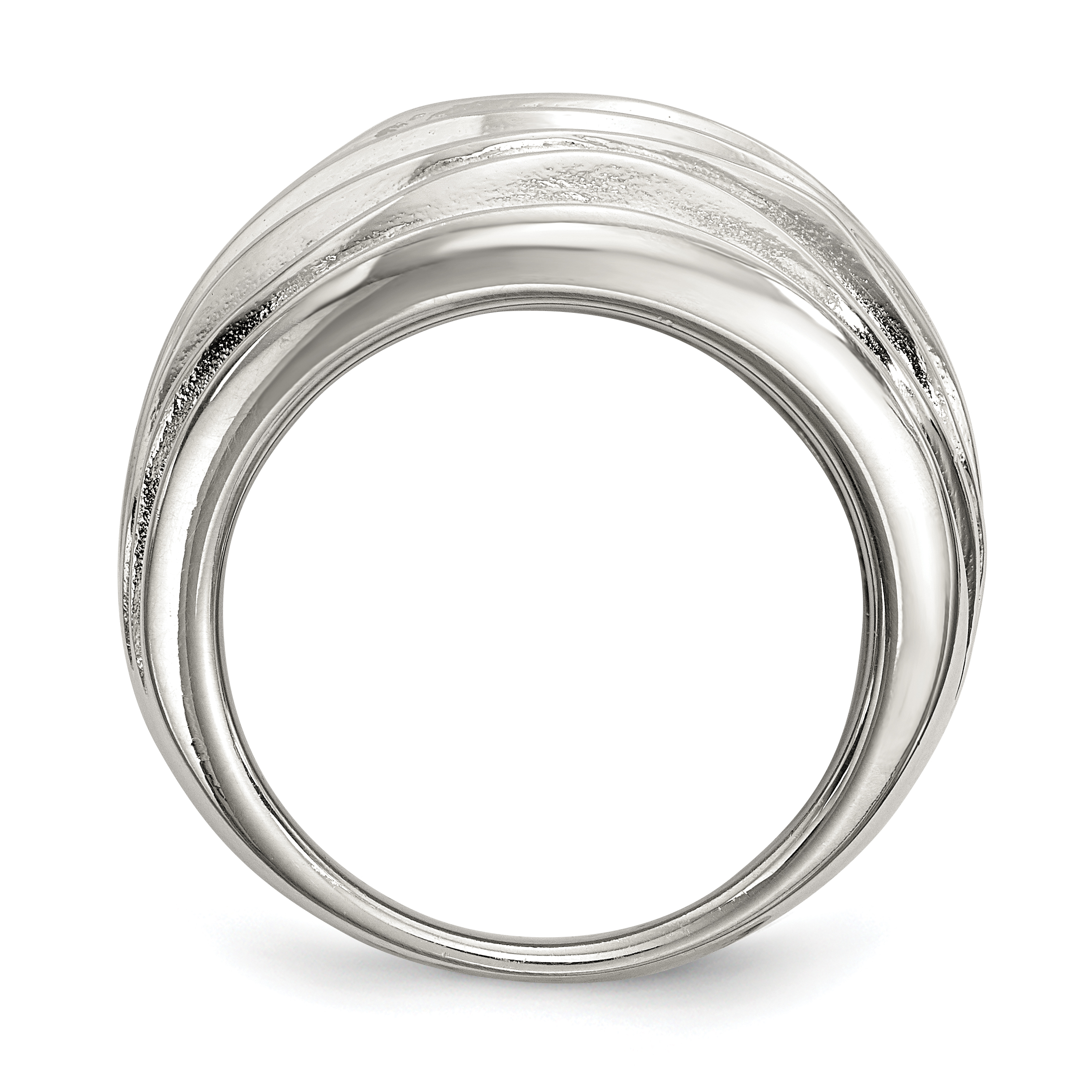 925 Sterling Silver Band Ring Size 6.00 Fine Jewelry Gifts For Women For Her - image 1 of 4