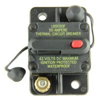 Bussmann CB185-50 Surface-Mount Circuit Breakers, 50 Amps (1 per pack)