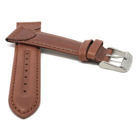 22e097873 14mm Leather Watch Band Strap, Tone-on-Tone, Replacement Band for many ...
