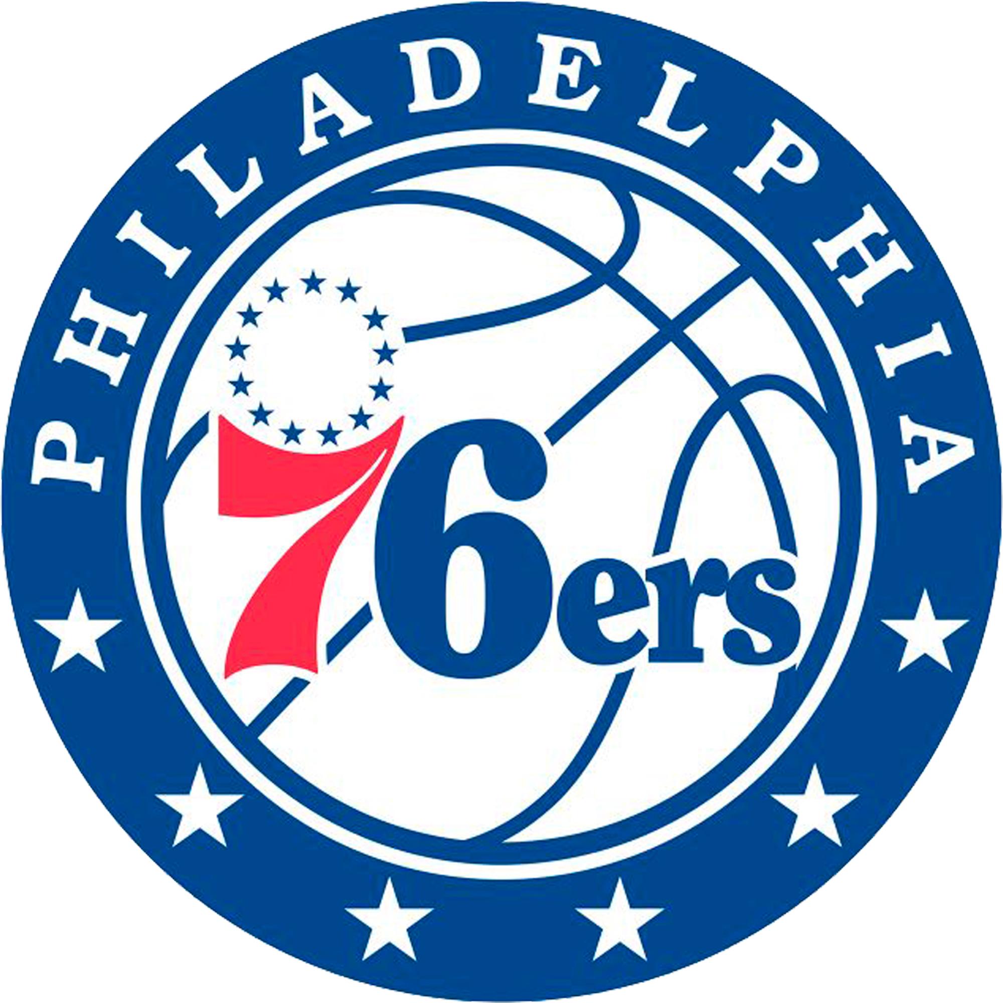 Philadelphia 76ers Fathead Giant Removable Decal - No Size
