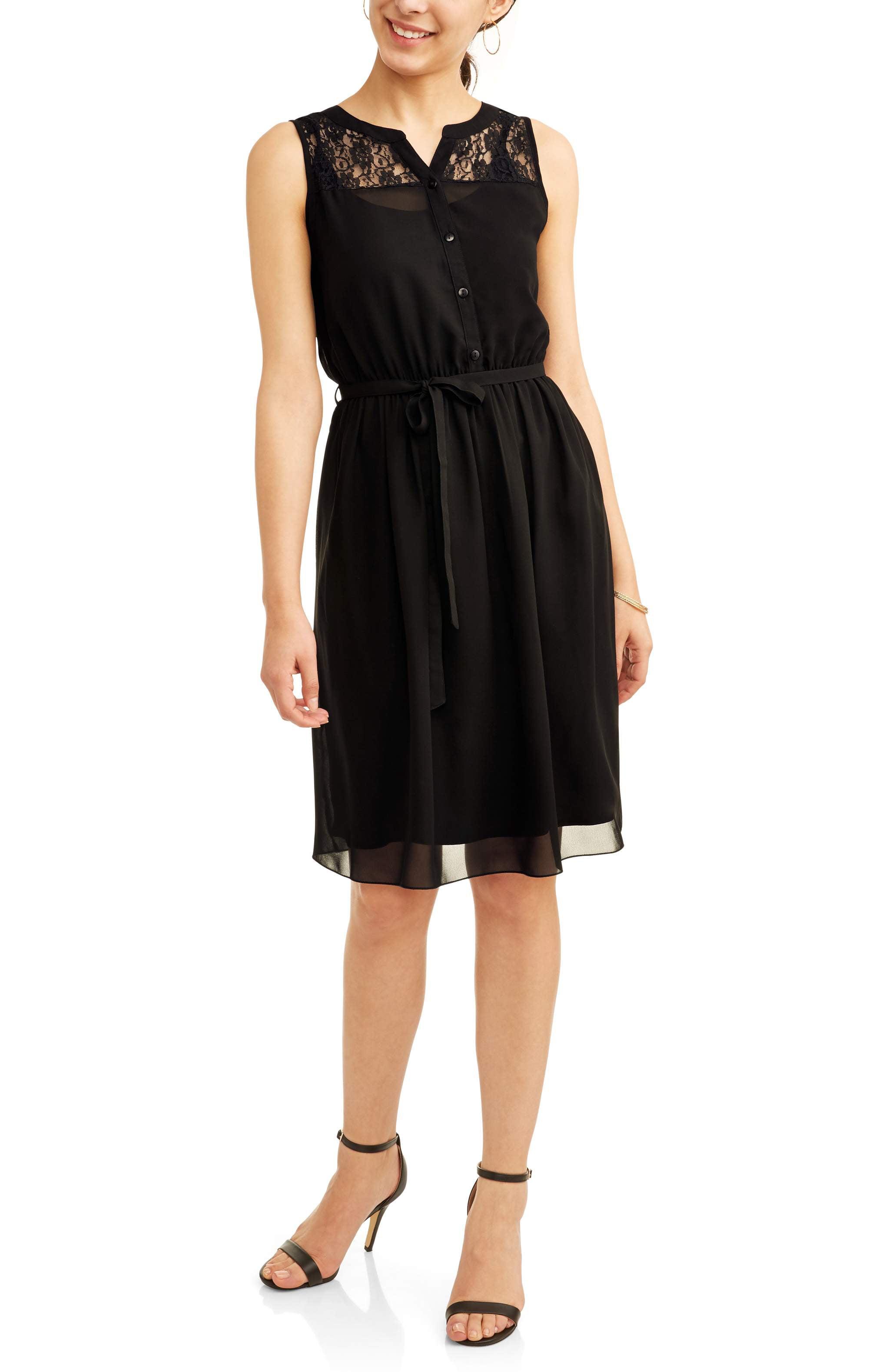 Jaquline Design Studio Women's Lace Detail Dress