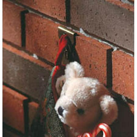 hanging christmas lights on brick