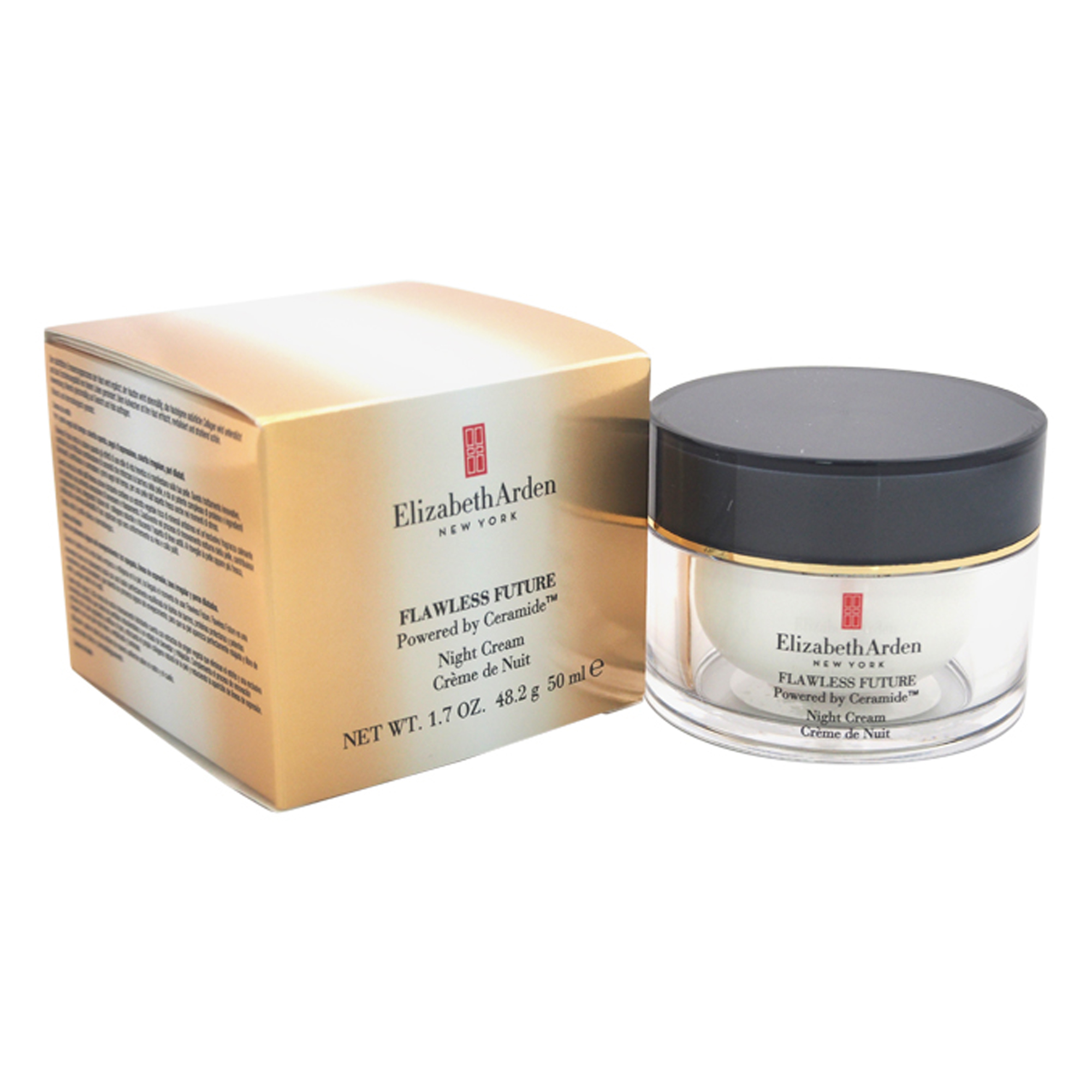 Elizabeth Arden Flawless Future Powered By Ceramide Night Cream By Elizabeth Arden For Women 1 7 Oz Moisturizer Walmart Com Walmart Com