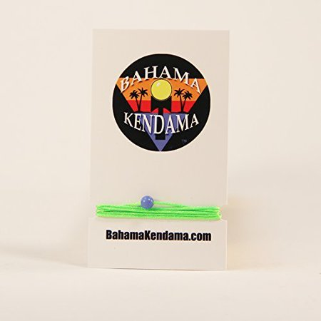 Three Pack - Bahama Kendama Premium Replacement kendama String with Beads, Instructions, and free Stickers (Neon Green)](Beading Instructions)