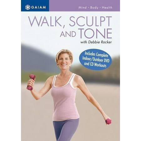 Walk, Sculpt & Tone with Debbie Rocker (DVD)