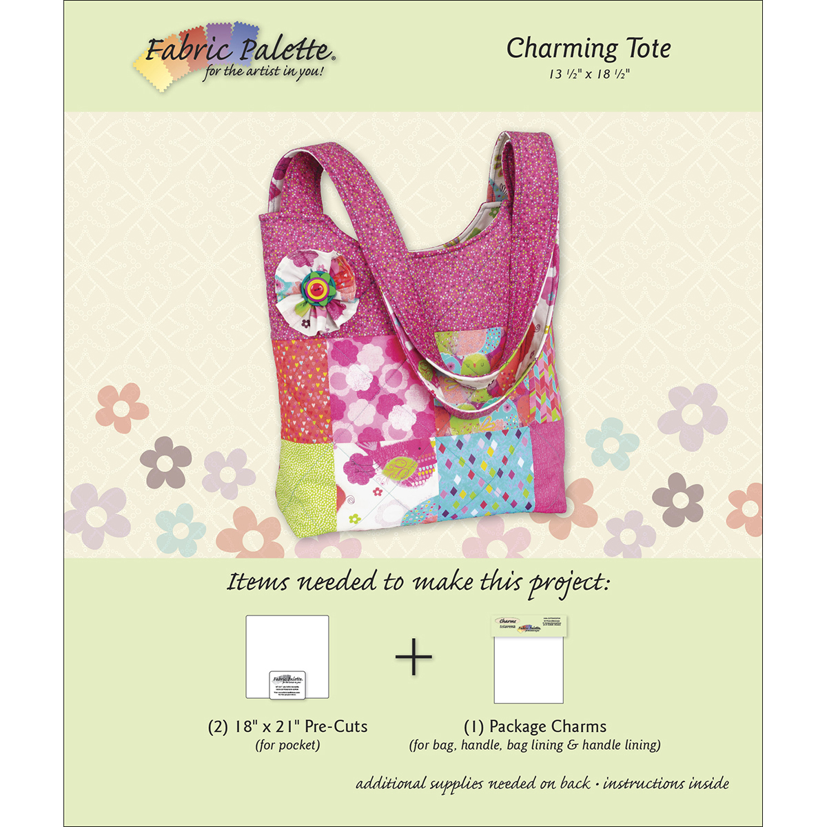 Fabric Palette Project Sheet-Charming Tote