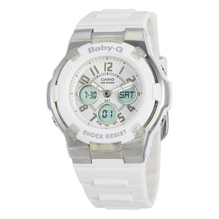 Baby-G White Ladies Watch BGA110-7B
