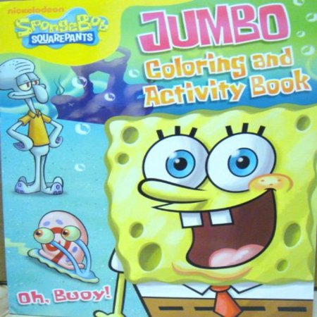 SPONGEBOB COLORING & ACTIVITY BOOK B - Spongebob Coloring Pages Halloween