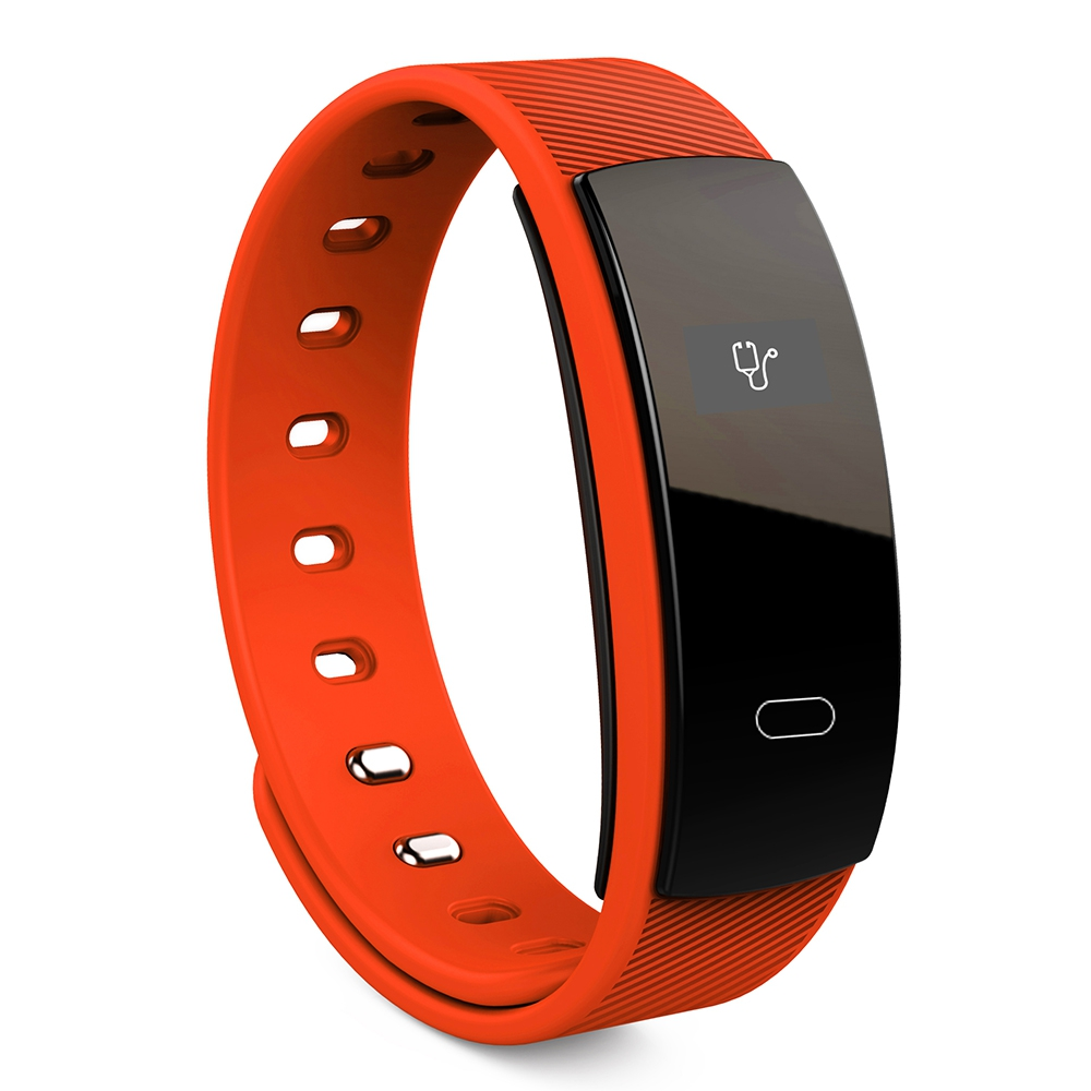 Silicone Bands Waterproof Gym Fitness Running Smart Watch Wristband For Women