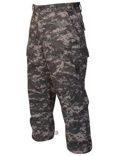 Battle Trousers Urban Digital 65/35 Poly, Cotton Twill, Large Regular