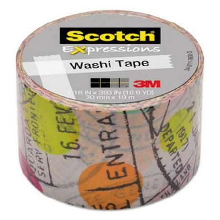 Scotch Expressions Washi Tape, 1.18