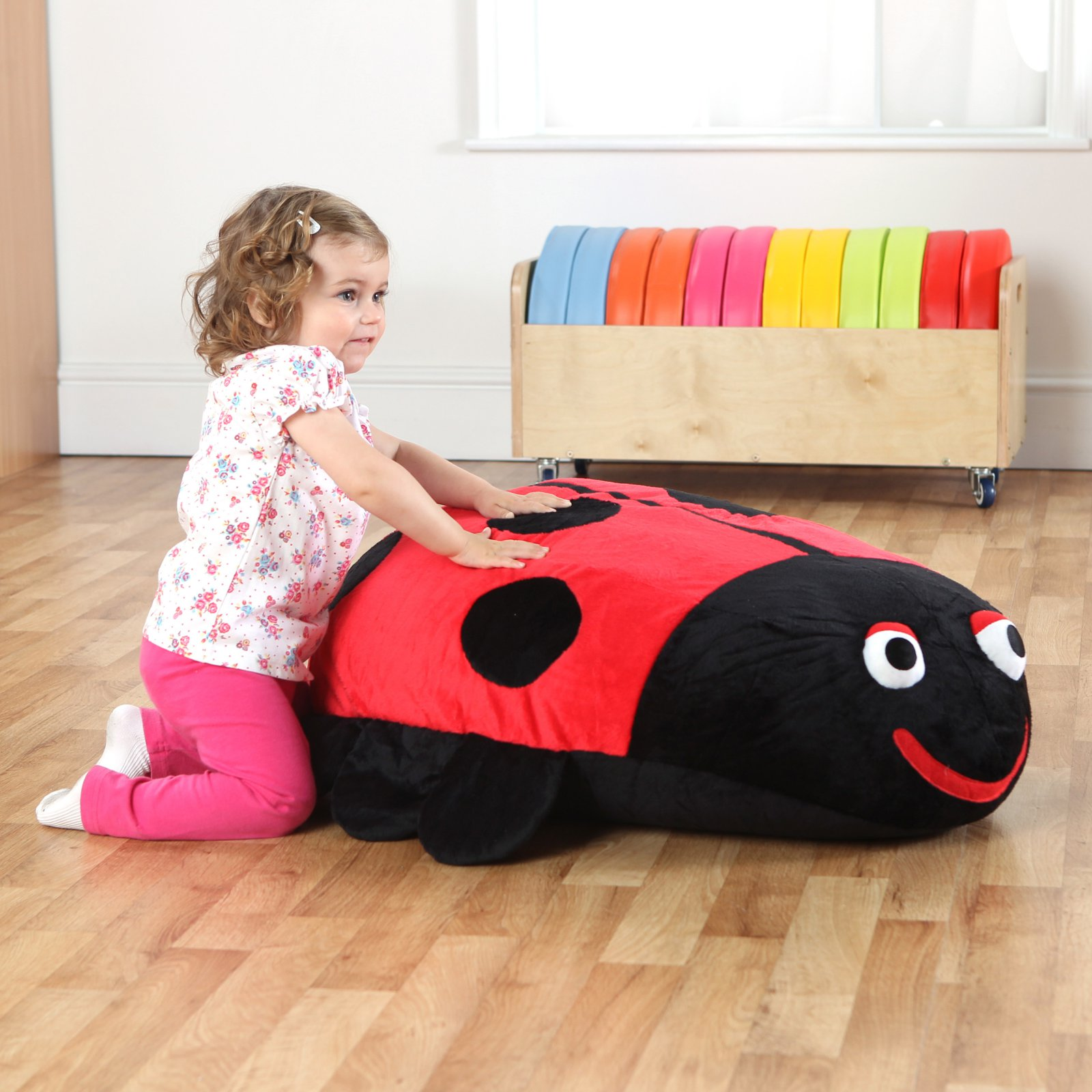 Kalokids Dotty Ladybug Giant Floor Cushion